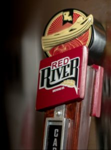 Red River beer tap handle