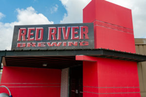 Red River Brewery building entrance