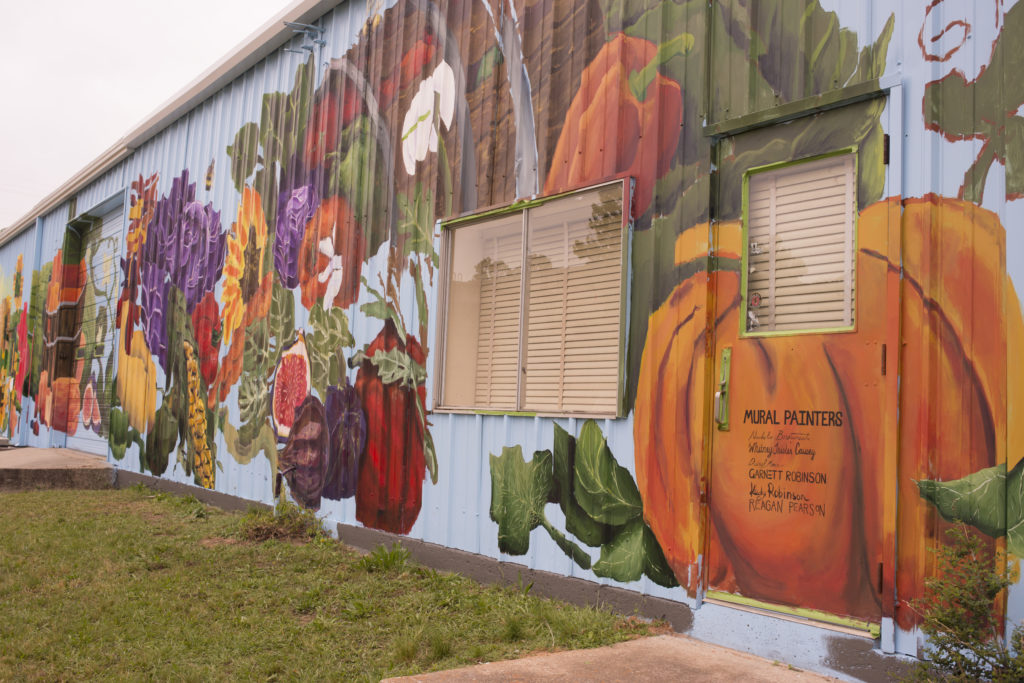 Ruston Farmer's Market mural