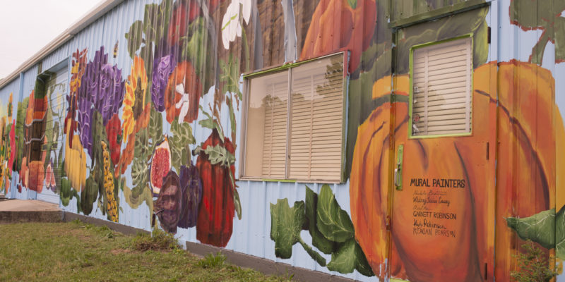 Ruston Farmer's Market mural