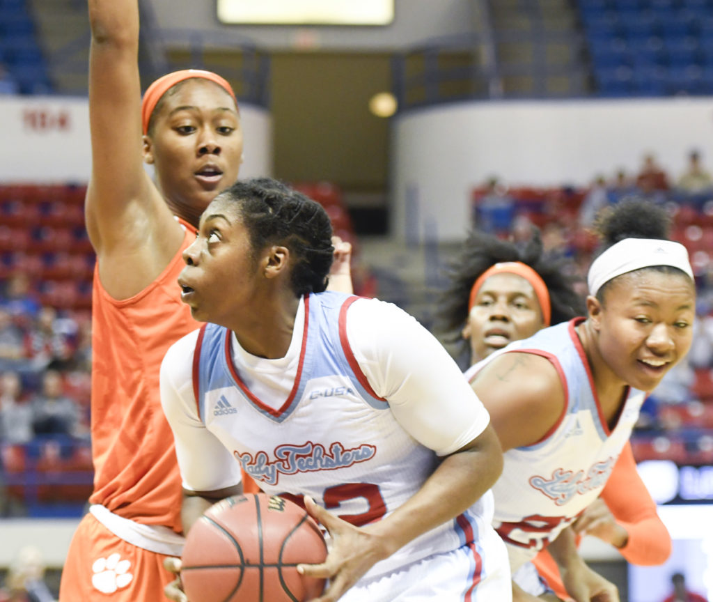 Lady Techsters Basketball vs Clemson