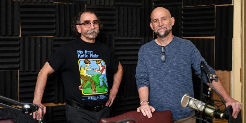 Mark Guinn and Davy Norris