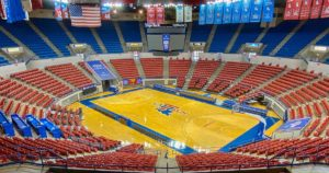 An empty Thomas Assembly Center