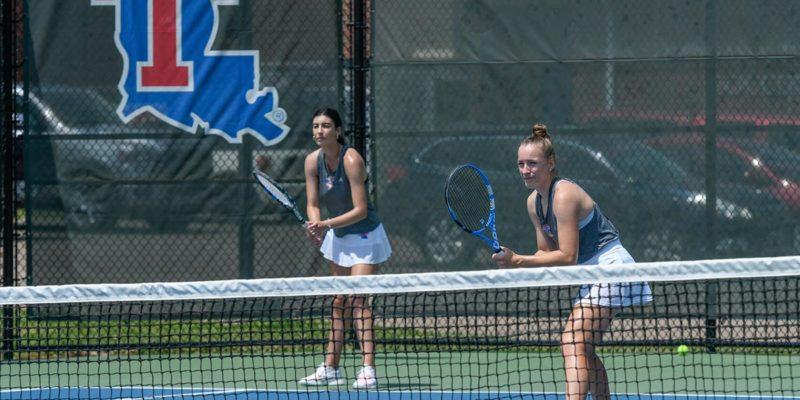 Tennis versus Northwestern State.