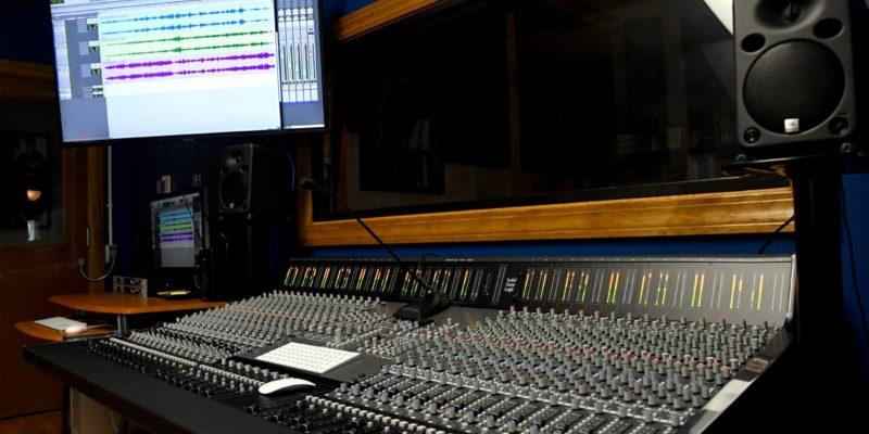 New studio equipment.